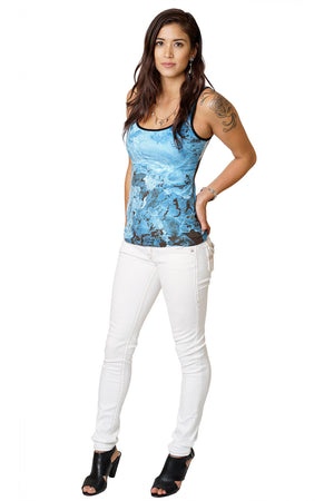Tank Top - Nature Inspired Yoga Fashion - Kamchatka