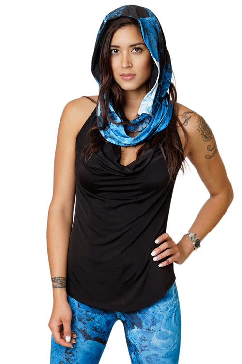 Infinity Scarf-Printed Fashion & Nature Clothing- Ocean Print