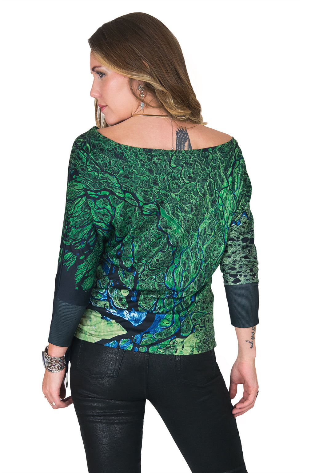 Dolman Top-Explore our Earth Clothing-National Geographic-Lena Delta