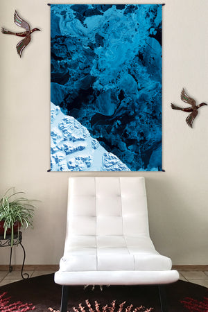 Fabric Tapestry - Nature Wall Hanging - Home Decor Tapestry - Kamchatka