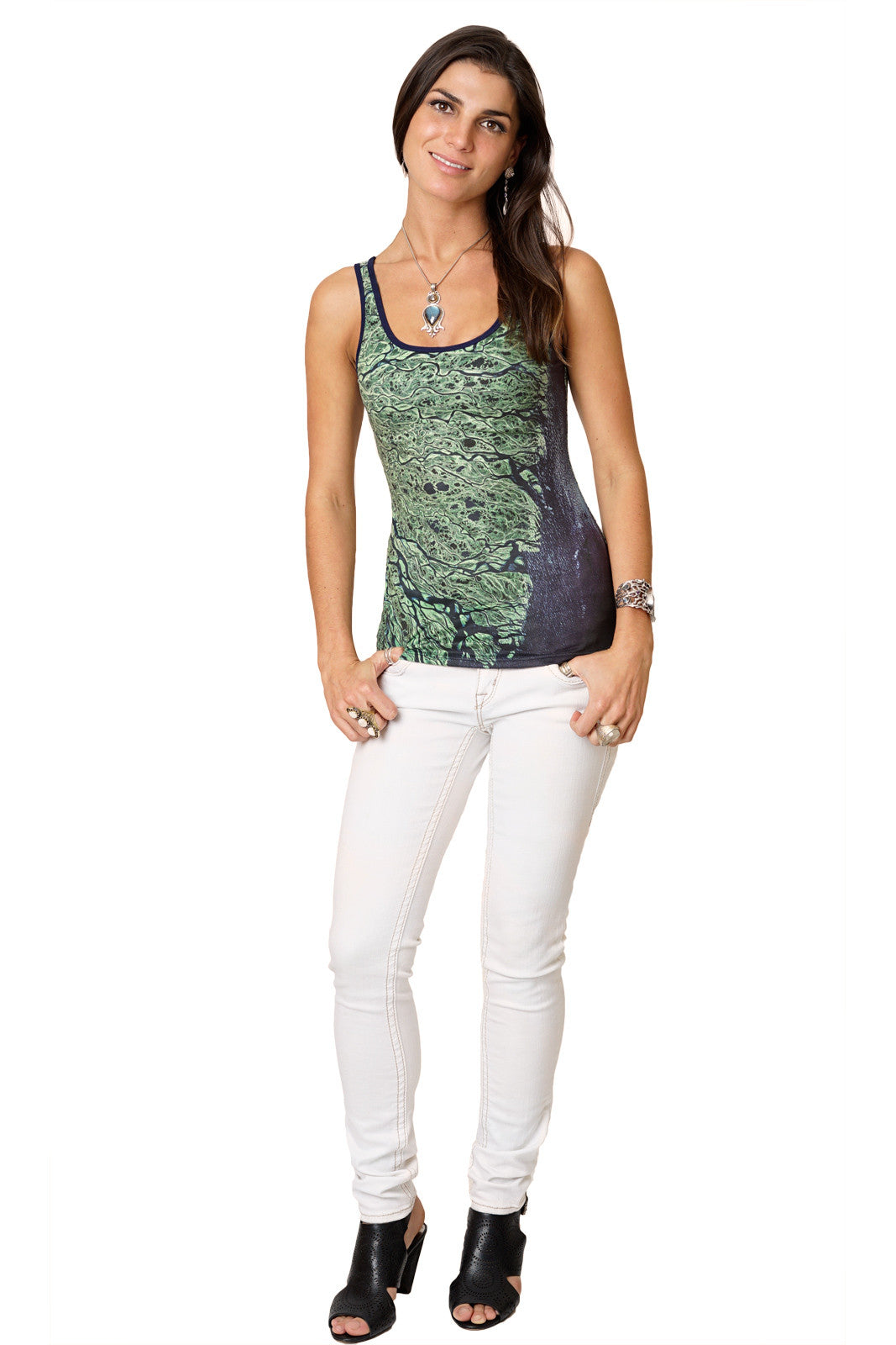 Tank Top - Nature Inspired Yoga Wear - Lena Delta