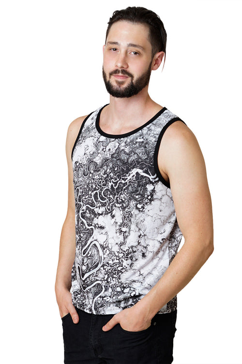 Mens Tank Top - Festival Fashion - Mayn River