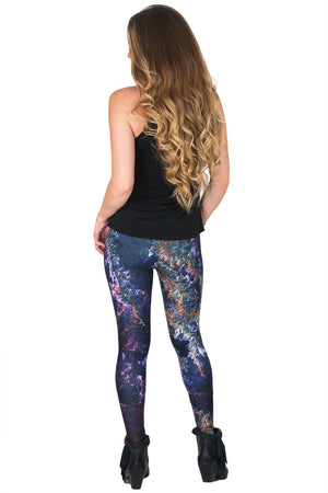 Leggings - Colorful Printed Leggings - Ghadamis