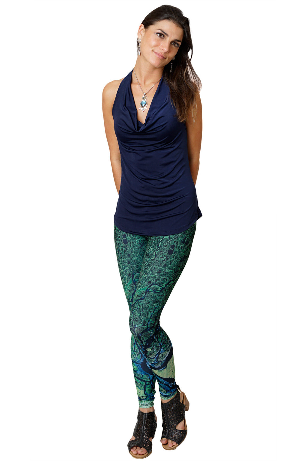 Leggings - Colorful Leggings Hippy Lovers - Lena Delta