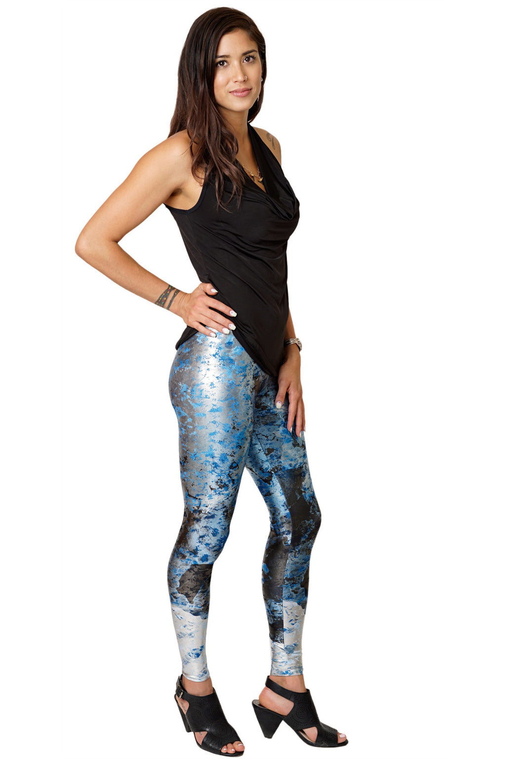 Leggings - Colorful Nature Inspired Athletic Fashion -