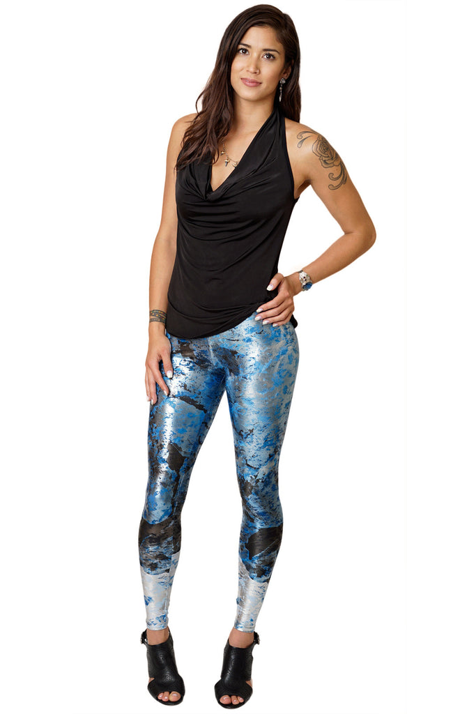 Leggings - Colorful Nature Inspired Athletic Fashion - Kamchatka