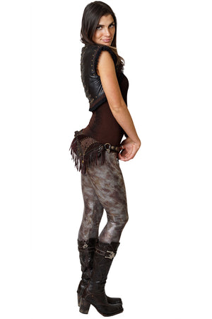 Leggings-Nature Inspired Festival Fashion-Sexy Snake Skin