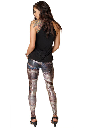 Leggings-Nature Inspired Festival Lifestyle Fashion-Dasht-e Kavir