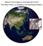 Poncho Dress - NASA Satellite Image of our Earth - Mayn River
