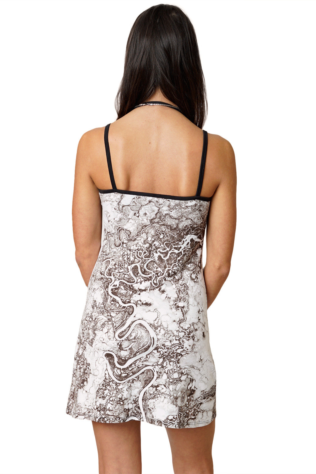 Mini Dress-Earthscapes Earth as Art-Earth Image Clothing- Mayn River
