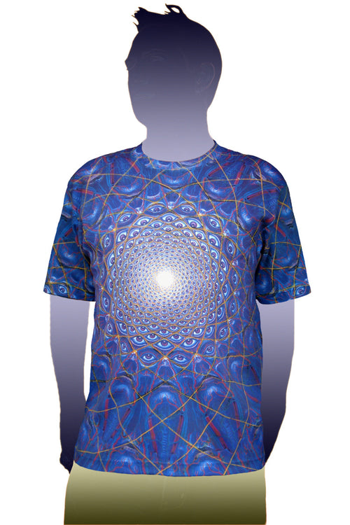 Shortsleeve Printed T-shirt- Art by Alex Grey - Collective Vision