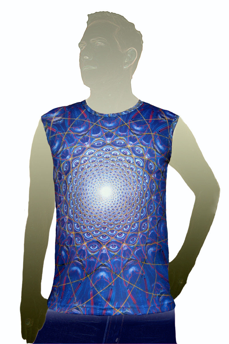 Mens Tank Top Collective Vision- Visionary Art by Alex Grey