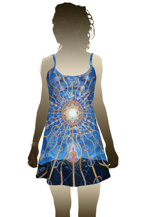 Alex Grey Nature of Mind Dress