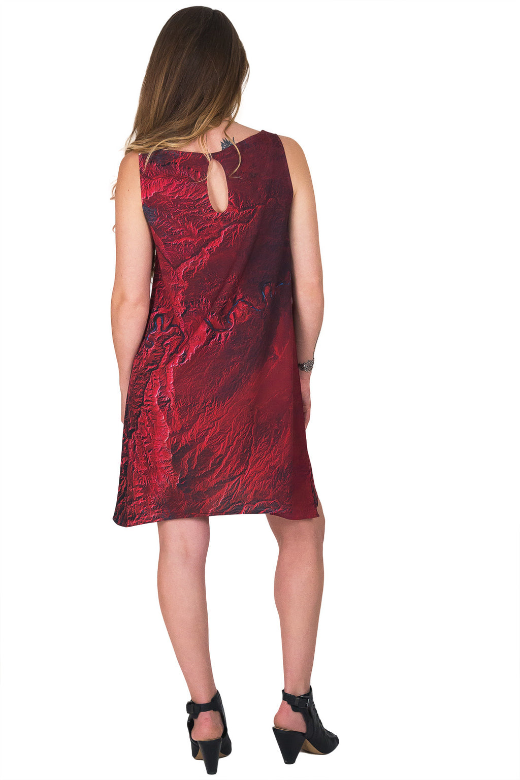 Sleeveless Shift Dress - Travel Dress - Desolation Canyon