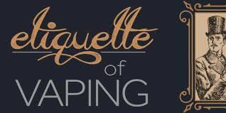 Vaping Vapes Wholesale Vape Etiquette Vape Dojo