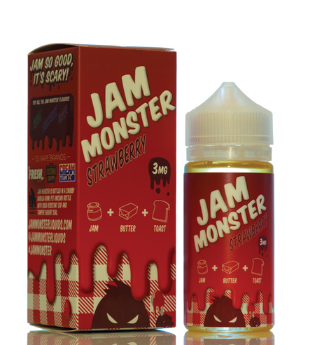 Vapes Wholesale Premium E-Liquid Khali Vapors Jam Monster