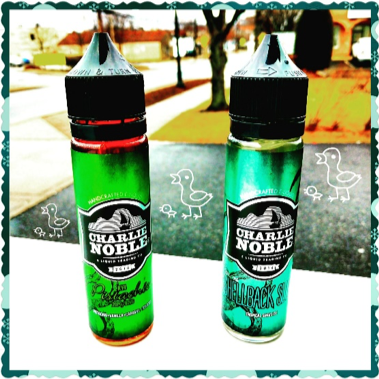 Vapes Wholesale Charlie Noble Pistachio RY4 Shellback Slush