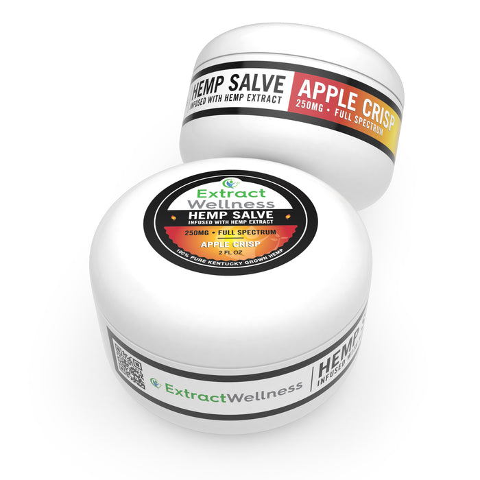 Extract Wellness - Hemp Extract Salve Apple Crisp