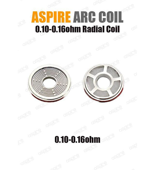 Aspire - Radial Coil ARC Technology (3-pack)