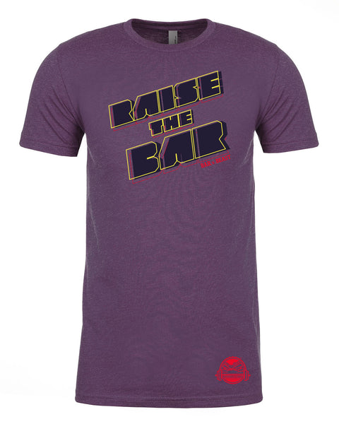 Raise the Bar 2.0 Men's Tee (Vintage Purple)