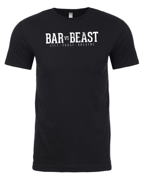 Bar vs. Beast Men's Tee (Black)