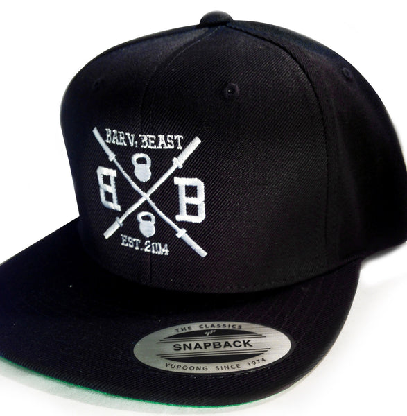 Bar vs. Beast Classic Snapback (Black)