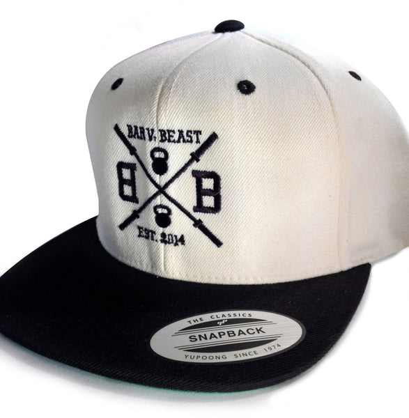 Bar vs. Beast Classic Snapback (Natural/Black)