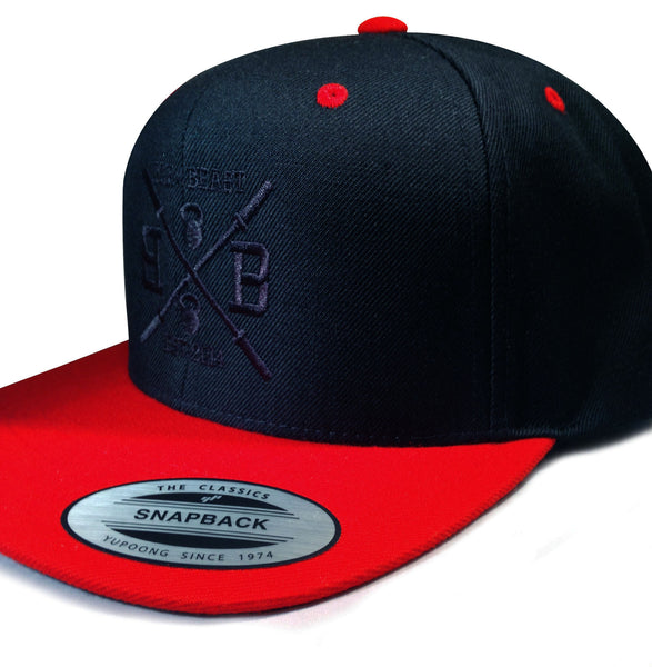 Bar vs. Beast Classic Snapback (Black/Red 2.0)