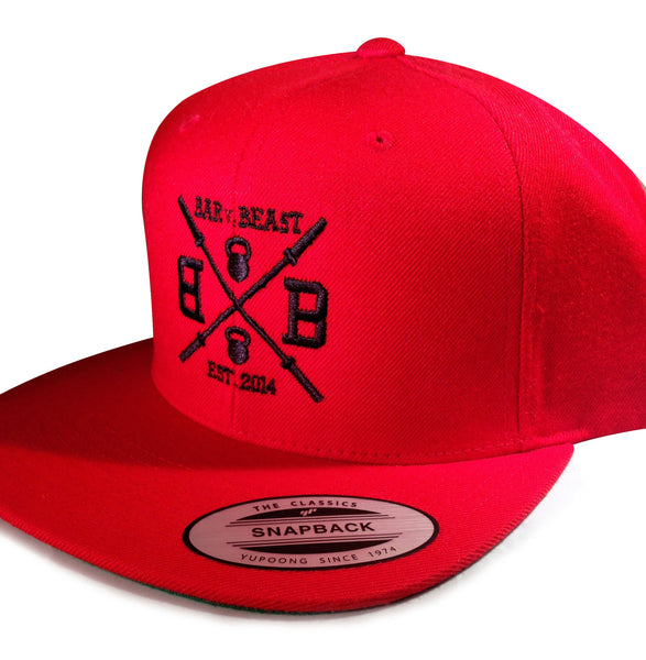 Bar vs. Beast Classic Snapback (Red)