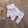 Baby Boy/Girl Dot Hooded Tops+ Pants Legging Set