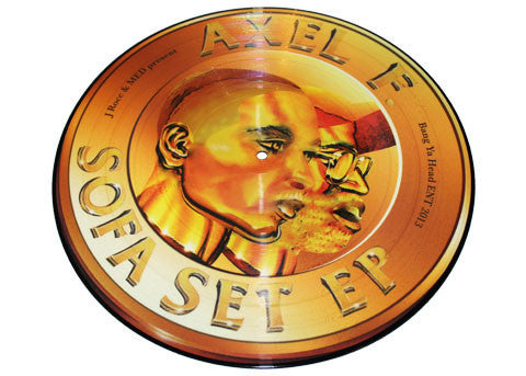 Axel F. (MED & J.Rocc) - The Sofa Set Ep (picture Disc)