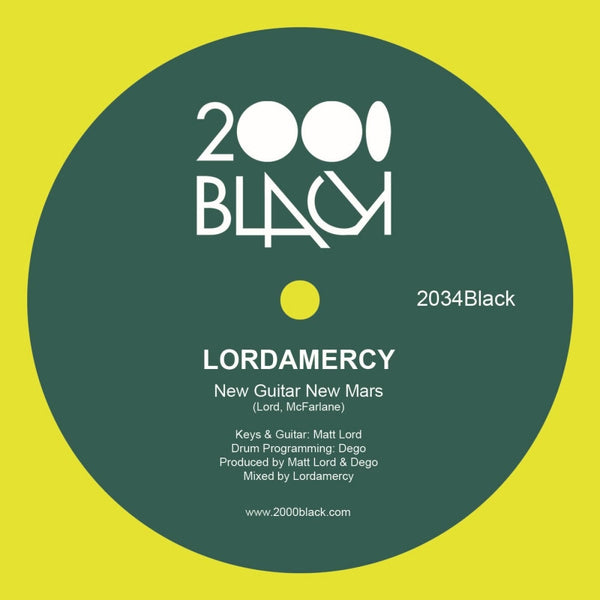 Lordamercy - New Guitar New Mars