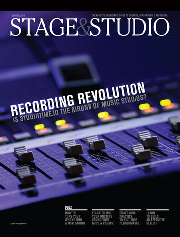 Stage & Studio Spring 2016 Digital Magazine