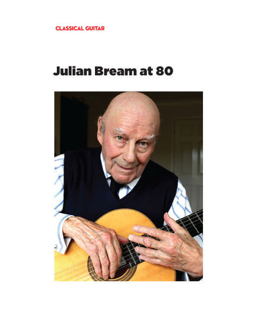 Julian Bream at 80