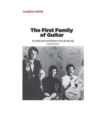 The First Family of Guitar