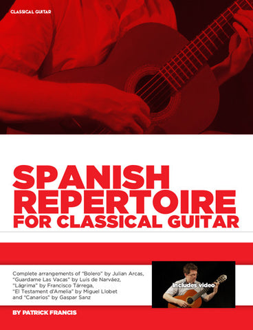 Spanish Repertoire for Classical Guitar