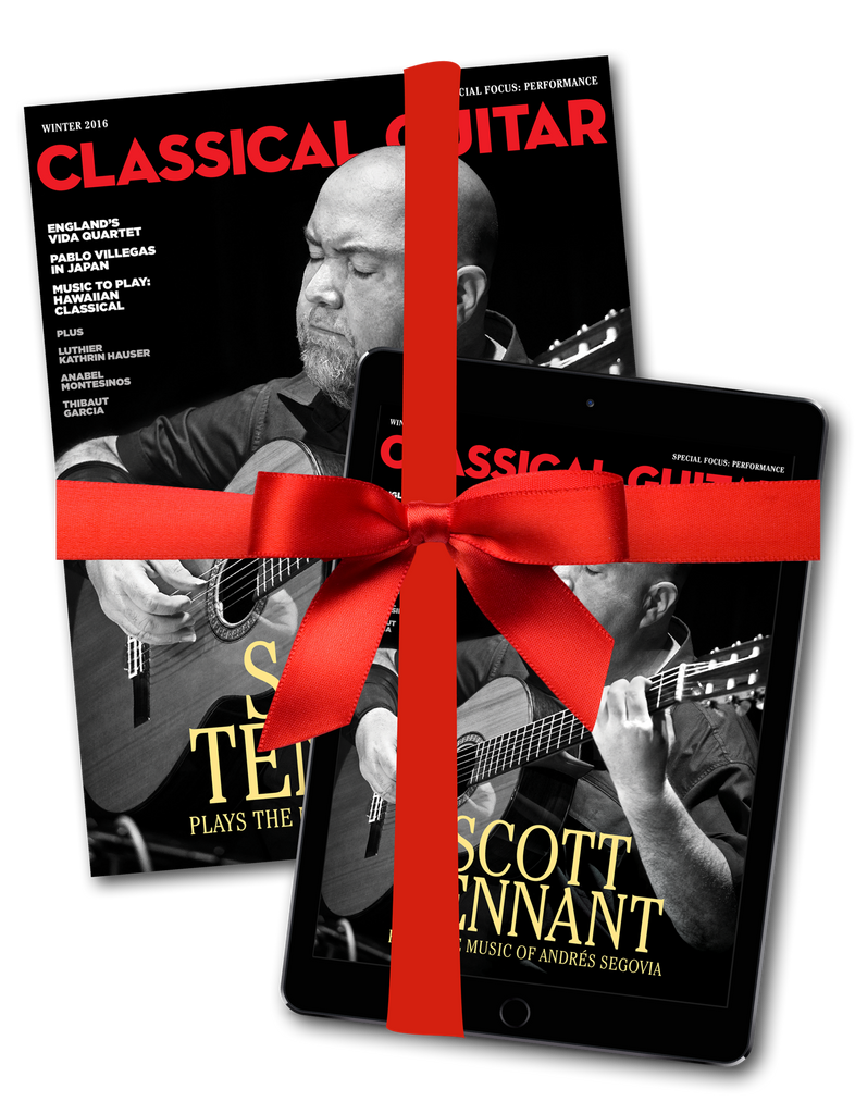 Classical Guitar Magazine 2 Year Subscription