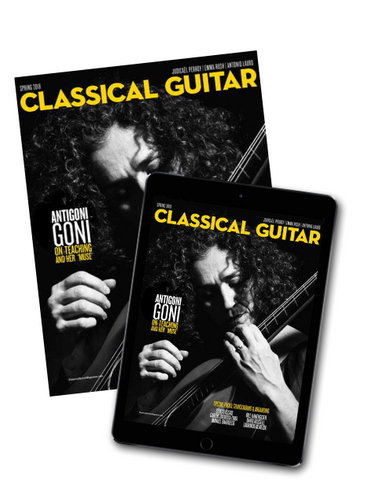 Classical Guitar Magazine Subscription