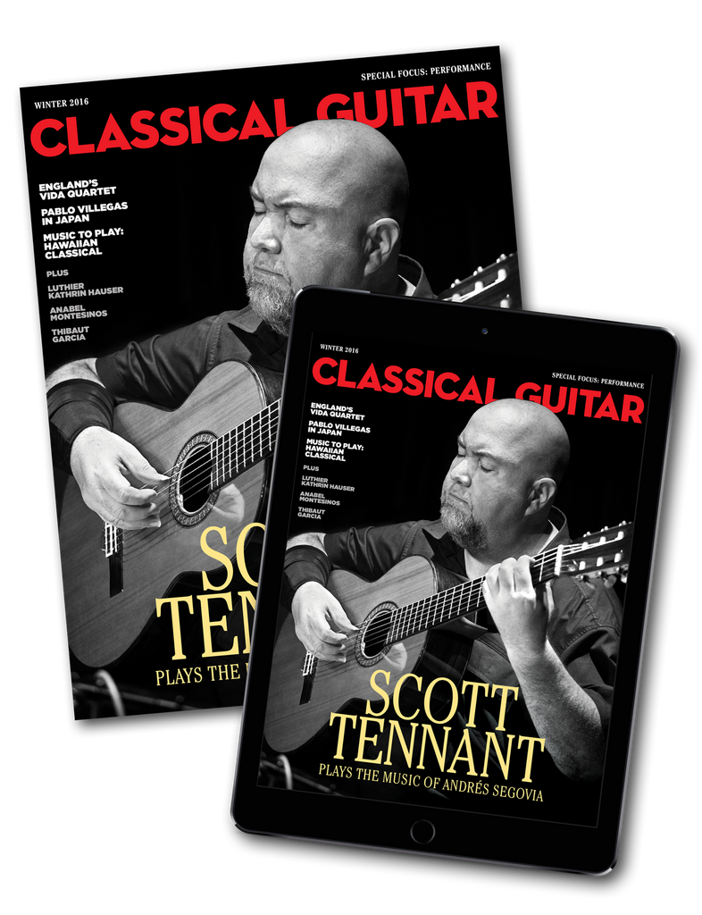 Classical Guitar Digital Only Subscription - Summer 2017 Special Offer