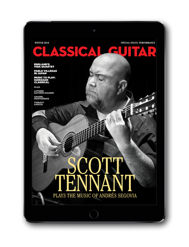 Classical Guitar Digital Subscription