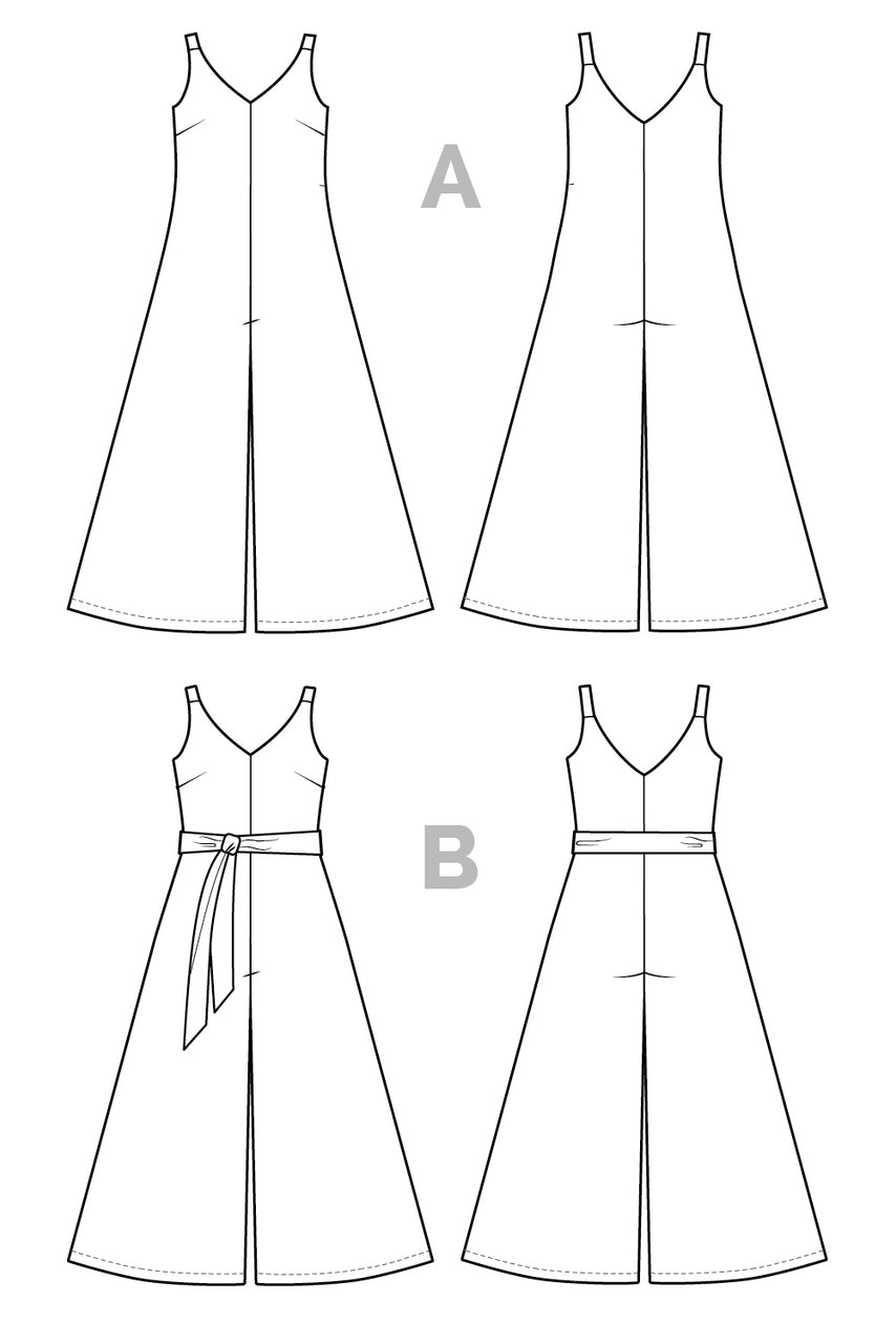 Amy Jumpsuit Pattern - PDF Download