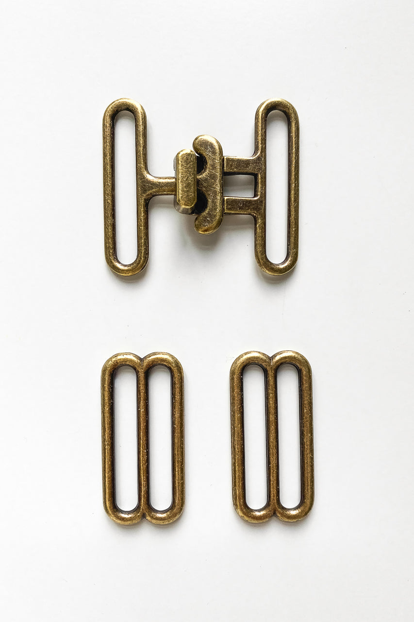 Brass Buckle for Blanca Flight Suit