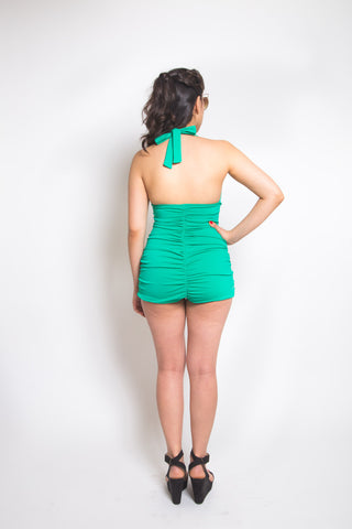 Bombshell swimsuit pattern // Back View // Closet Case Patterns