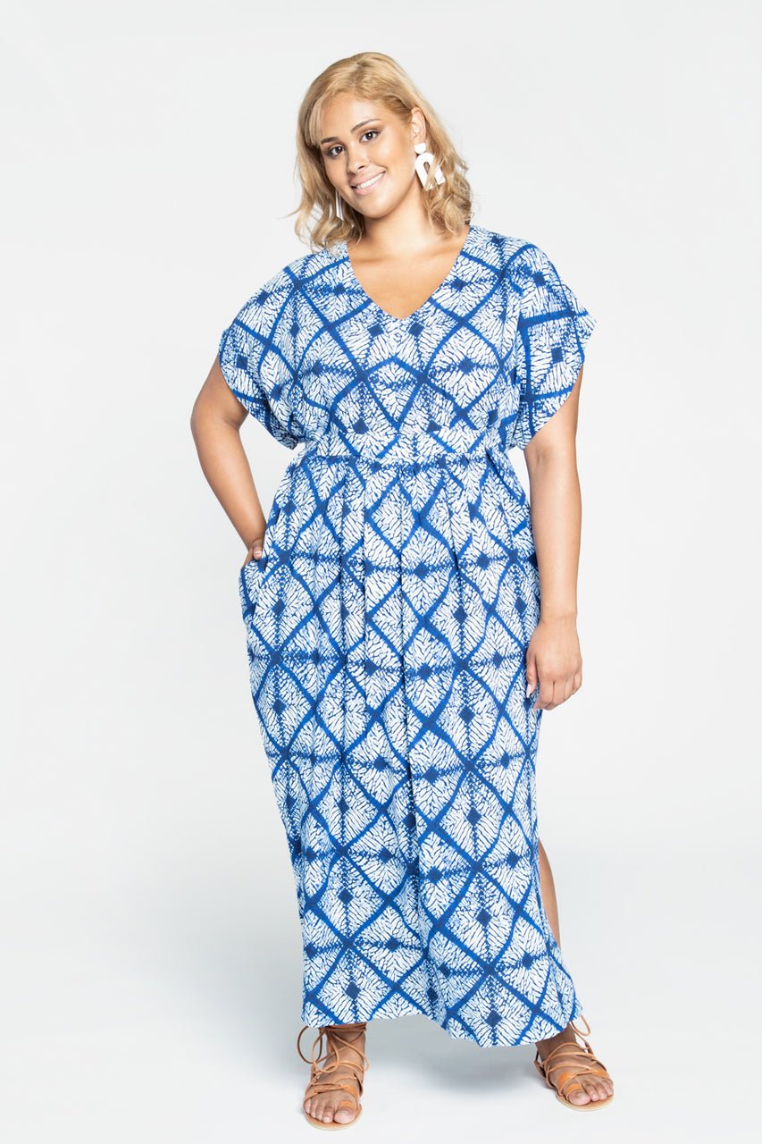 Charlie Caftan pattern / Kaftan Pattern| Plus size dress pattern | by Closet Core Patterns