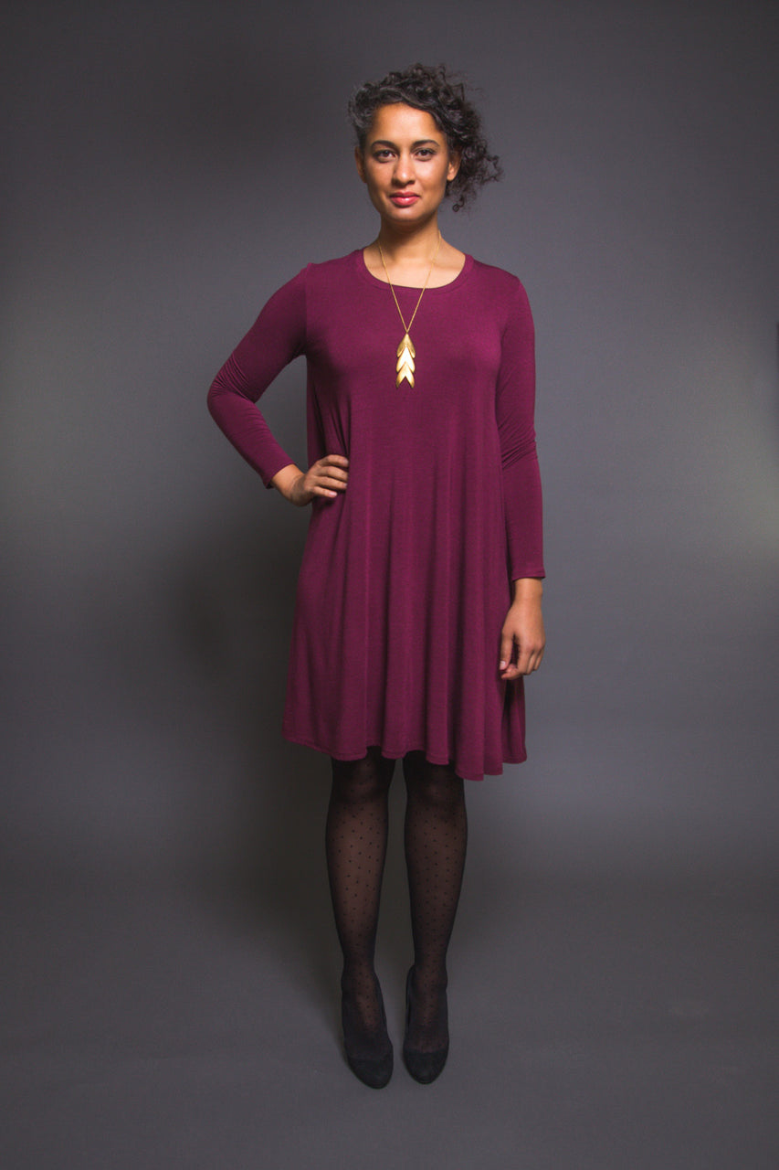 Ebony Tee Pattern // Knit Dress Pattern // Closet Core Patterns