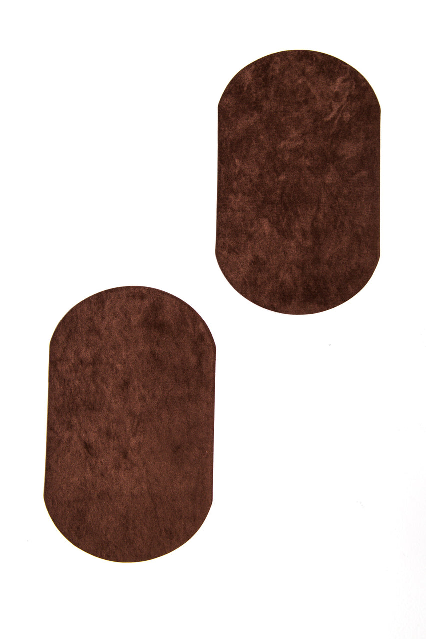 Faux Suede Elbow Patches