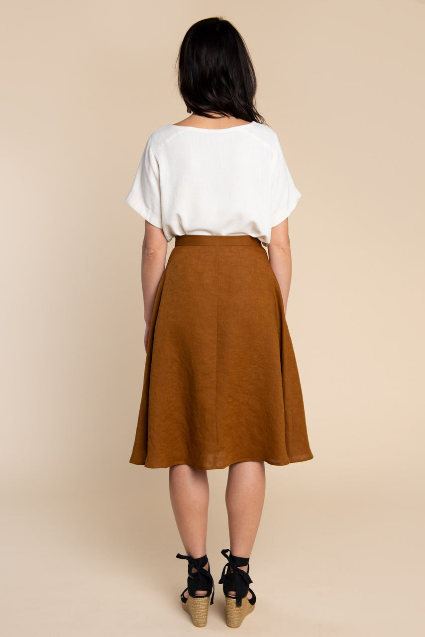 Fiore Skirt Pattern - Button front skirt pattern | Closet Case Patterns