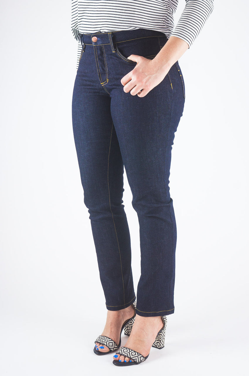 Ginger Mid-rise Skinny Jean Pattern // Jeans sewing pattern // Closet Core Patterns