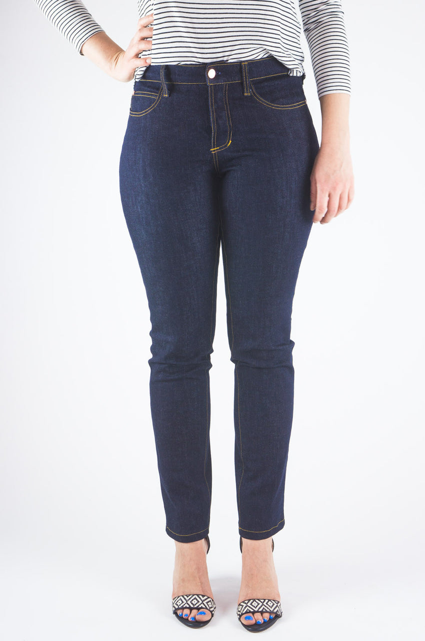 Ginger Mid-rise Skinny Jean Pattern // Jeans sewing pattern // Closet Case Patterns
