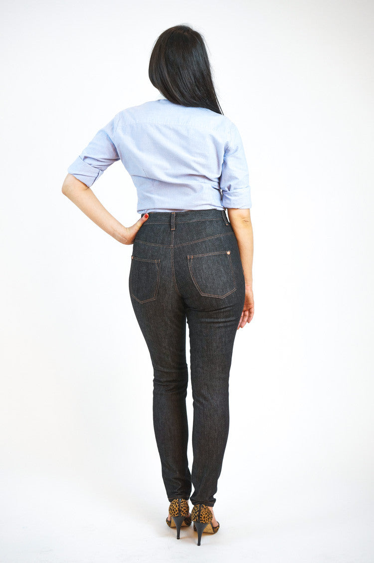 Ginger Jeans pattern // Skinny jeans sewing pattern // Closet Case Patterns